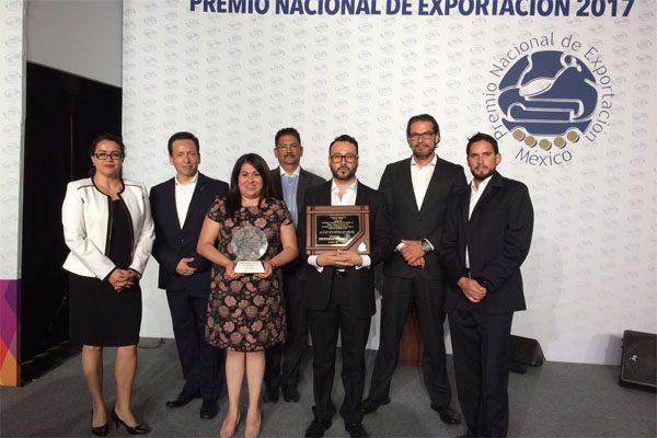 Gana Kiekert de México Premio Nacional de Exportación 2017