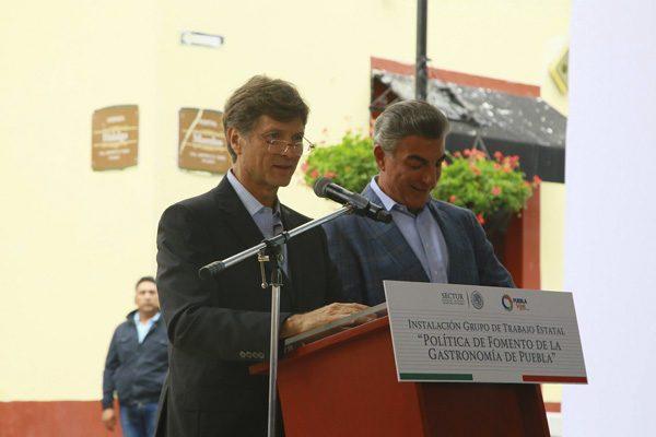 Sectur y Puebla firman convenio en Atlixco