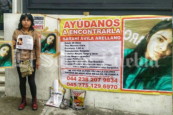 Se cumple un mes de la desaparición de Saraí Ávila Arellano