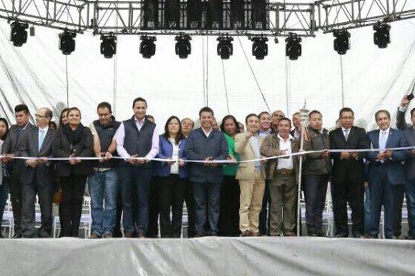 Inaugura Leoncio Paisano el primer Festival Gastronómico 2017