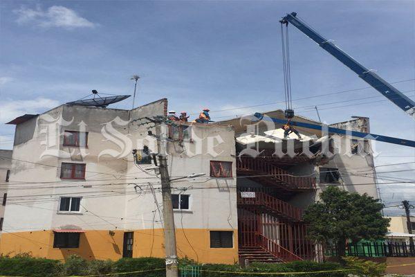 Inicia el  éxodo de familias en Atlixco por terremoto