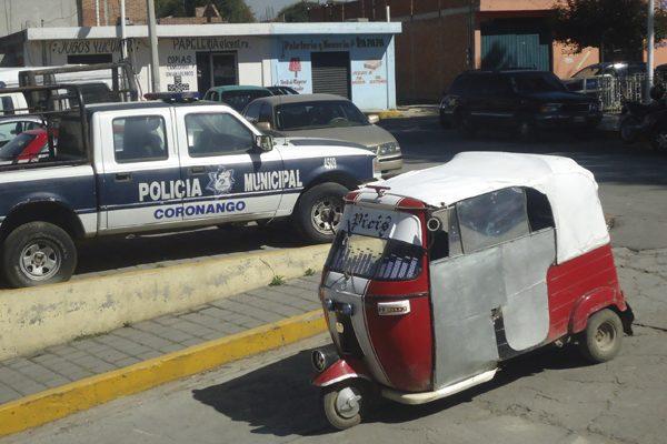 Pese a prohibición, circulan 80 mototaxis en Coronango, admite alcadesa