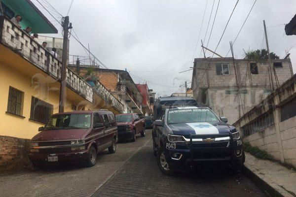 Matan a cinco en Huauchinango y dejan tres lesionados
