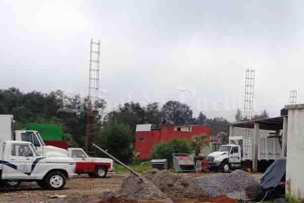 Se accidenta trabajador de Rellenos Sanitarios Teziutlán, en sus instalaciones