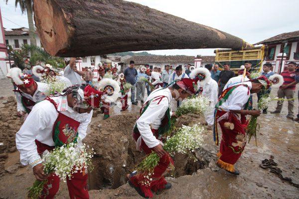 [Fotos] Tradición viva de los Voladores de Cuetzalan