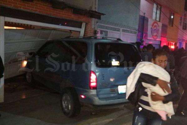 Aparatoso accidente en Chachapa deja varios lesionados