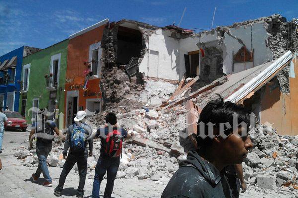 Apoyo económico para damnificados por sismo será dividido en dos pagos