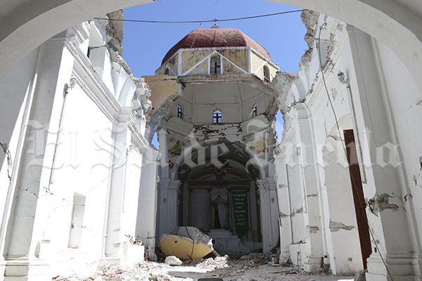 Atzala aún llora la caída del templo y las 11 muertes que provocó el terremoto