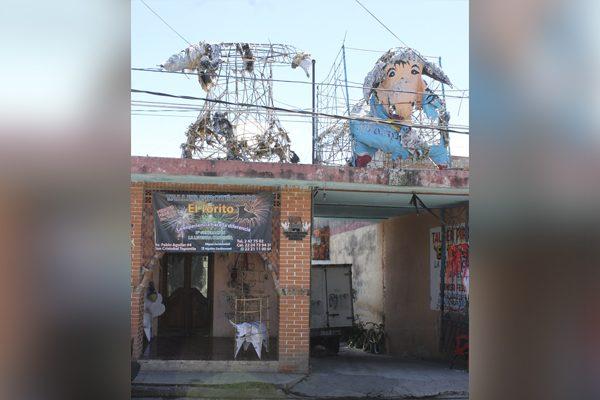 Colapsa producción de pirotecnia en Puebla tras sismo