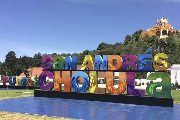 Delimitarán con letreros el territorio de San Andrés Cholula