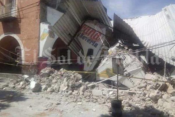 Persiste confusión entre damnificados por el sismo en Atlixco
