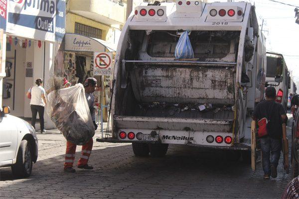 Recolección de basura en Puebla no llega al 50 %, revela estadística