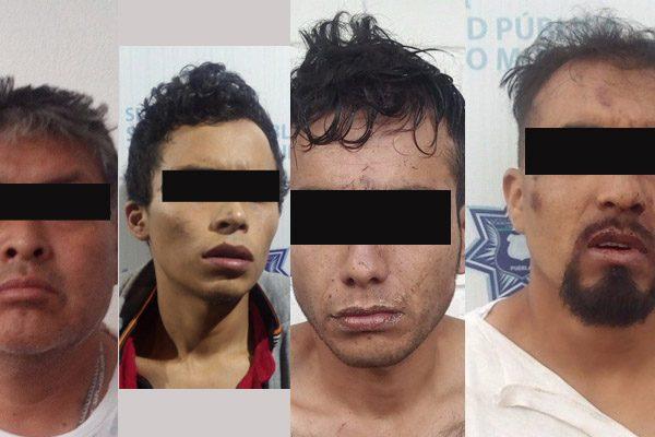 Corretiza termina en Hacienda de Santa Clara con cuatro detenidos