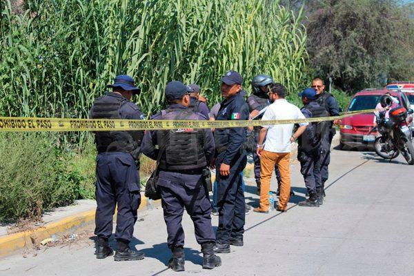 Encuentran a víctima de feminicidio en el dren de Valsequillo