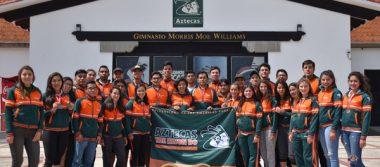 Los Aztecas en la cúspide del taekwondo universitario con tres títulos