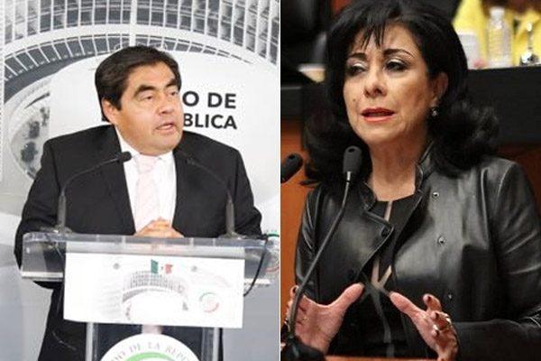 Saldaña y Barbosa insisten desde el Senado en Alerta de Género para Puebla
