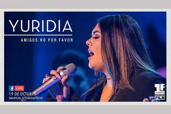 """Yuridia lanza """"Amigos no por favor"""", su primer sencillo de Primera Fila"""