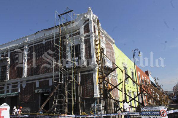 Ubican 28 puntos de riesgo por terremotos en Puebla capital tras sismo