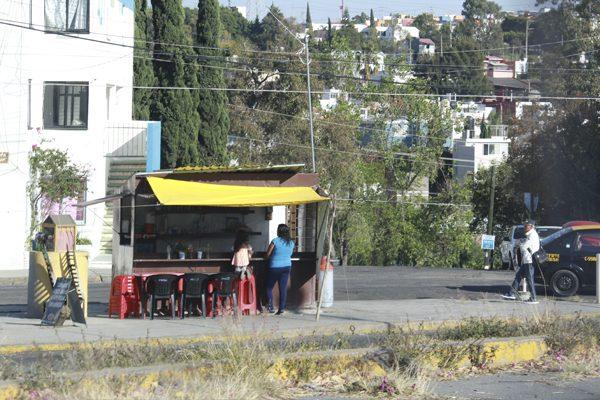Ambulantes de La Margarita, sin permiso del Ayuntamiento