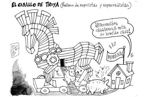 El caballo de Troya