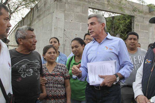 A dos meses del sismo, avanza la reconstrucción en Puebla