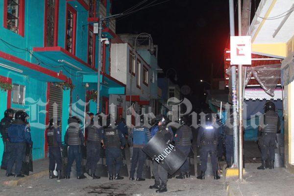 Pide edil de Libres más policías tras disturbios y linchamiento