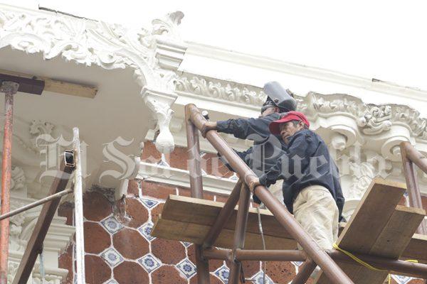 Hasta 2018, restauración de inmuebles históricos de Puebla dañados por sismo: Unesco