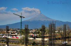 [GALERÍA] Regala el Popocatépetl maravilloso paisaje a todos los poblanos