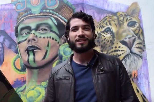 Alexander Tadlock fomenta el arte urbano con esencia mexicana