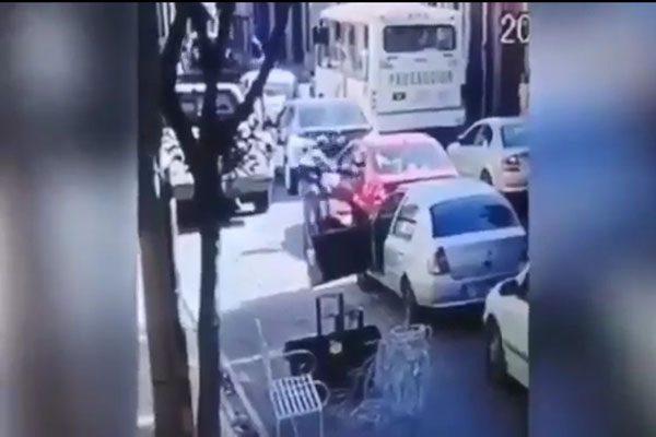 [Video] Momento en el que asesinan a conductor en Juan de Palafox