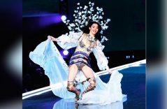 Tropezón en la pasarela de Victoria's Secret inunda los titulares