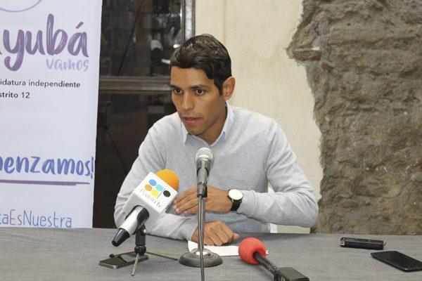 Confía Abayubá en alcanzar las firmas para participar en 2018