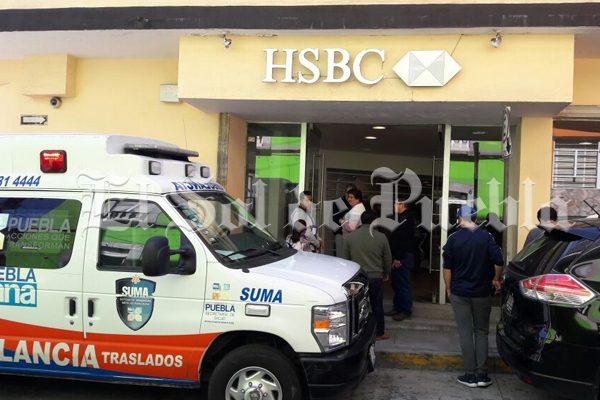 Por segunda ocasión, asaltan banco HSBC en Teziutlán