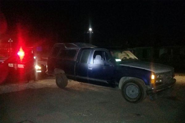 Recuperan camioneta robada en Texmelucan