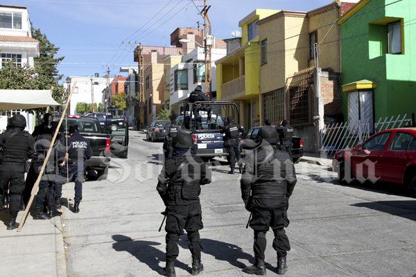 Catean federales vivienda en San Jerónimo Caleras