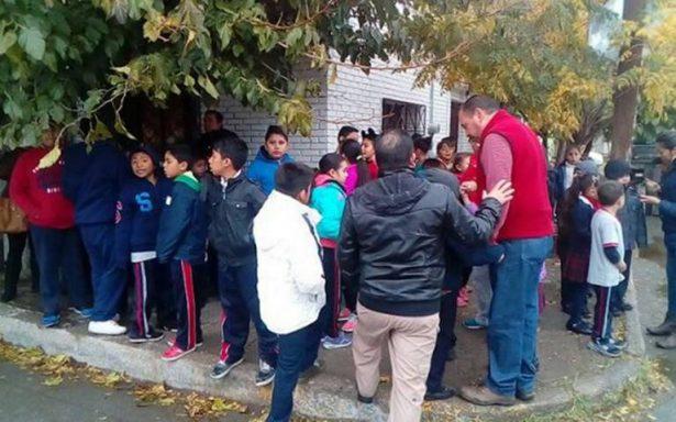 Explota cooperativa de primaria en Chihuahua; una persona resultó herida