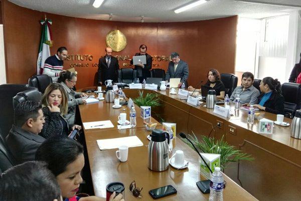 Fiscaliza INE evento de Meade en Puebla