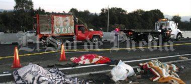 Sube a 13 el número de peregrinos fallecidos en choque en la México-Puebla