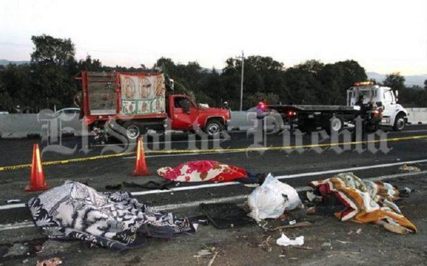 Dan de alta a cuatro de los sobrevivientes de accidente de peregrinos