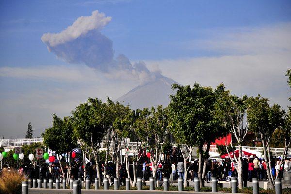 Prevén formación de nuevo domo de lava en el Popocatépetl