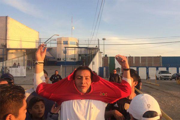 Xihuel Sarabia, hijo del líder de la 28 de Octubre, quedó en libertad