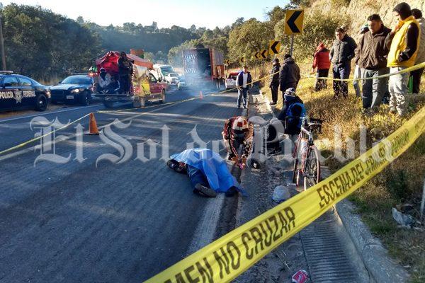 Pierde la vida otro peregrino en la carretera federal México-Puebla