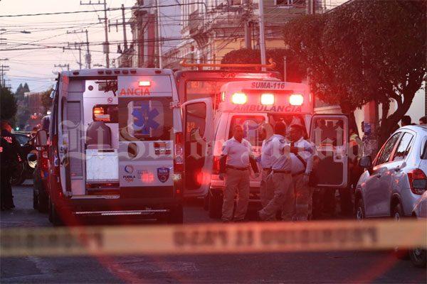 Caos en 11 Norte- Sur por supuesta balacera y atropelladas