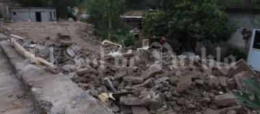 Acusan damnificados de Chiautla falta de apoyos tras terremoto del 19-S