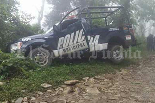 PoIicías frustran robo de recursos de Prospera en Cuetzalan