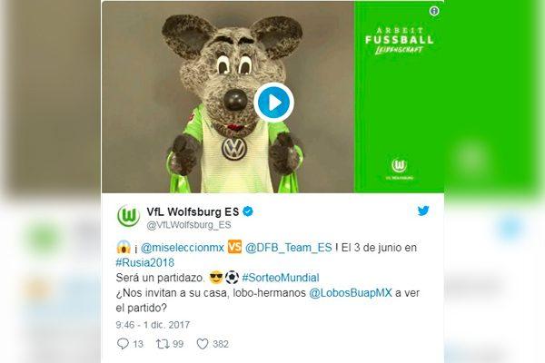 Lobos y Wolfsburgo se ponen de acuerdo para el México-Alemania