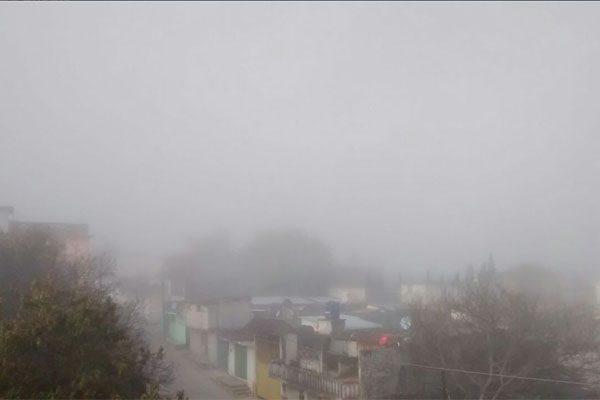 Masa de aire polar provocará temperatura de hasta -5 grados en Puebla