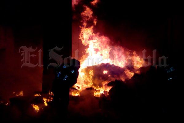 Causa alarma incendio en un terreno de Tecali de Herrera