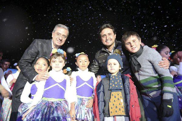 Inician los festejos decembrinos en San Pedro Cholula