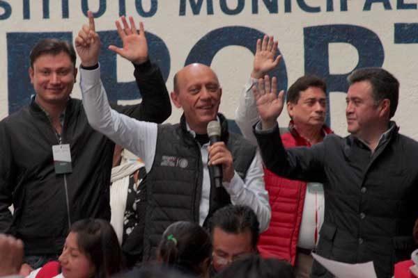 Bienvenidos integrantes de otros partidos al PRI: Lastiri